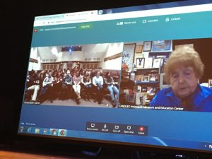 Teleconference with Mrs. Kor