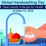 Flyer about Global Handwashing Day