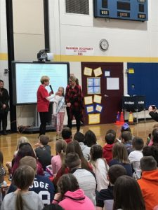 Assembly discusses the benefits of donating toys