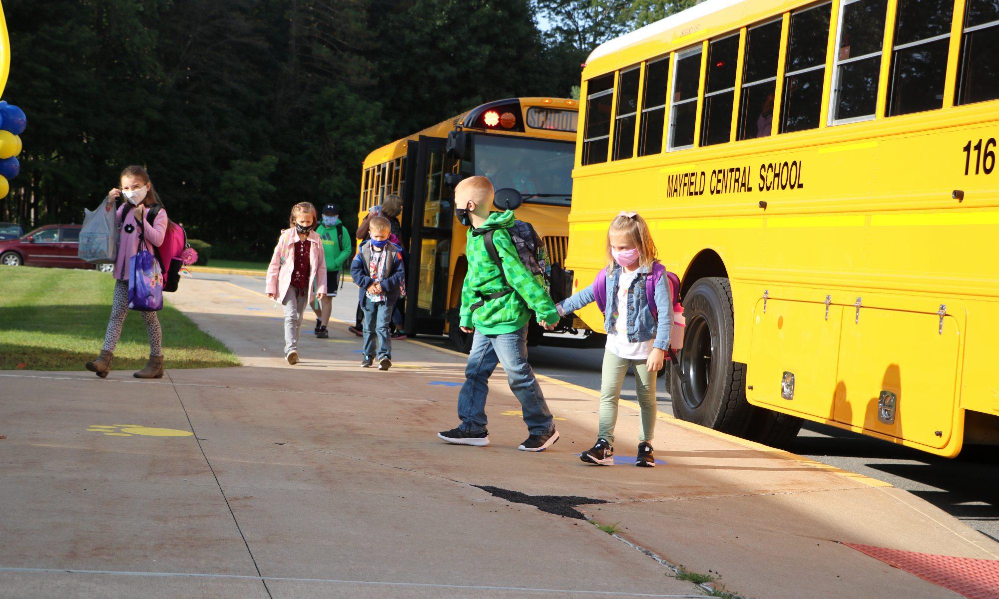 Students entering school