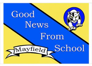 Post care Mayfield is sending home to parents