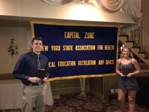 Two students receive APHERD awards
