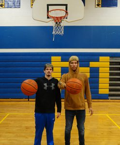 Garrett Delaney and Trevon Gifford