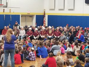 Veterans gather for the assembly