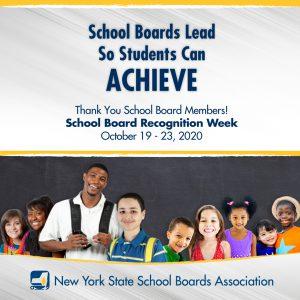School board recognition graphic